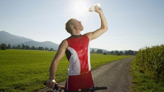 cycling in hot weather