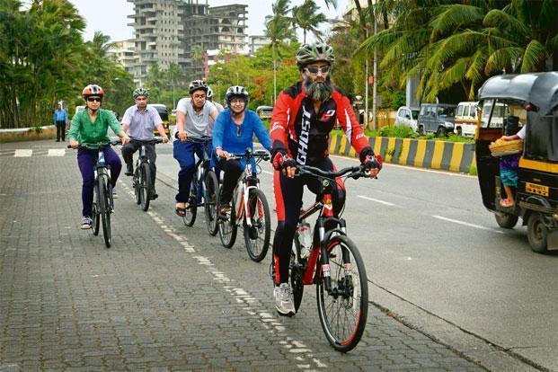 marie drive bike path