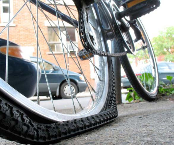 prevent tyre punctures