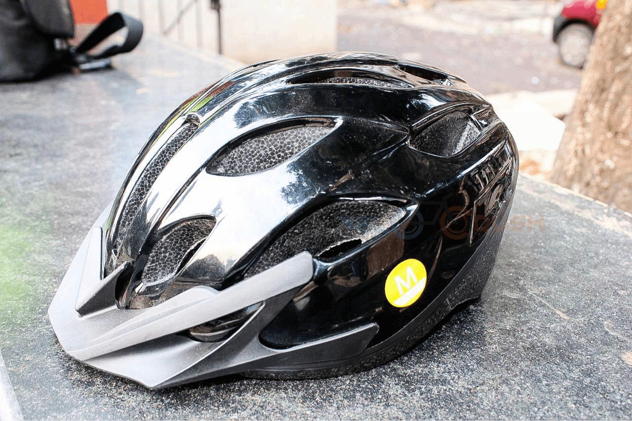 e03aeff76 Decathlon Btwin Bicycle Helmet Review  ST 50 Mountain Bike Helmet