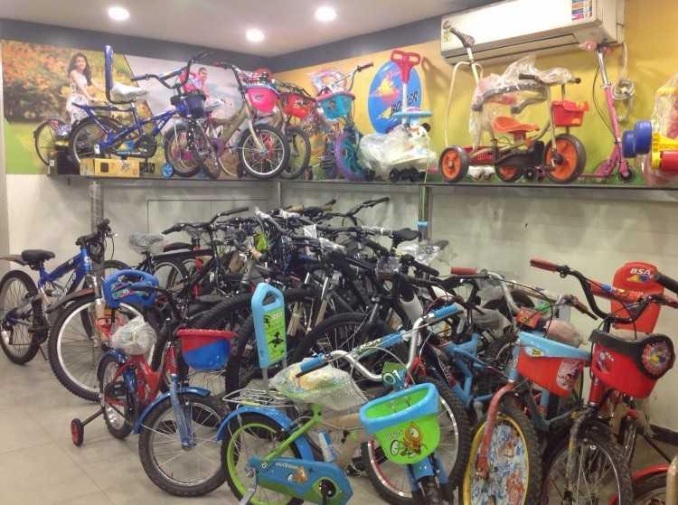 best cycle shops in Kolkata